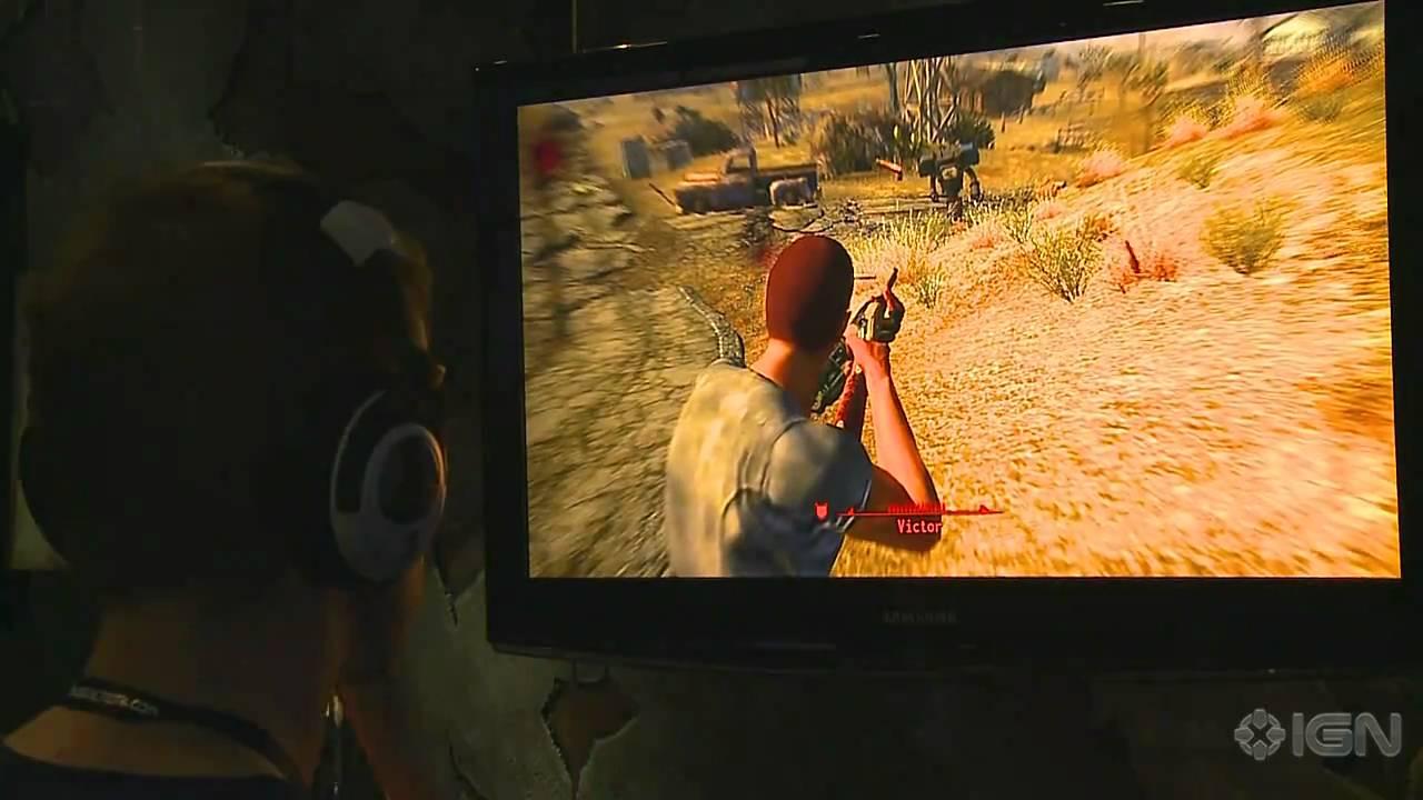Cowboy Robot Fallout New Vegas Fallout New Vegas Gameplay