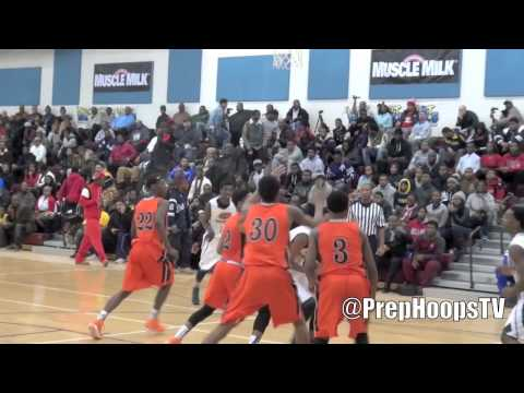 Dayton Flyer commit Darrell Davis 2014 Detroit Douglass goes for 32 points vs Bogan