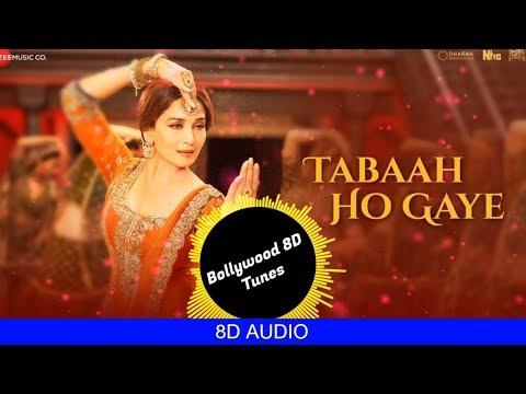 Tabaah Ho Gaye [8D Song] | Kalank | Shreya Ghoshal | Use Headphones | Hindi 8D Music