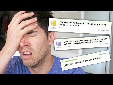 Las Preguntas Mas ESTUPIDAS De Internet !!