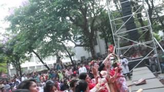 Dola de re pagla live concert 1423 Side camera video by Mila