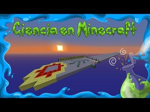 Ciencia en Minecraft. Velocidades