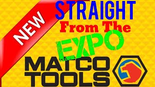 Brand New Matco Tools Fresh From The Tool Expo In Las Vegas