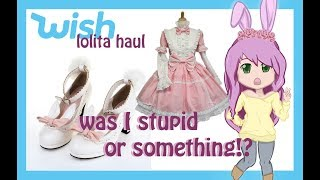Cosplay Review  Lolita items from Wish - HellsCuteExecuter