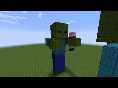 Minecraft как сделать зомби