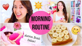 My Morning Routine: Summer Break Edition