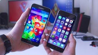 Apple iPhone 6 vs Samsung Galaxy S5 - 10 Reasons To Buy iPhone!