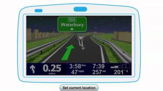 TomTom XL 340S Route Demo