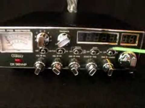 Galaxy 98 10 Meter CB Radio, 350 Watts Pep After Tuning!