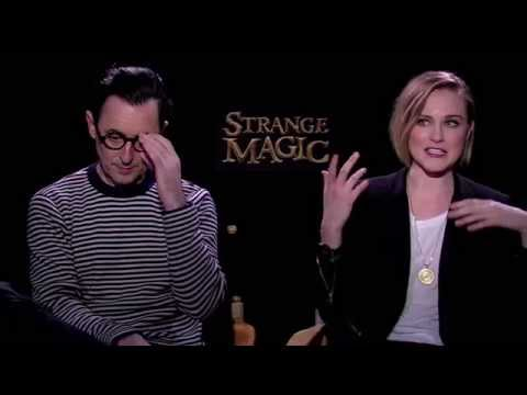 Alan Cumming & Evan Rachel Wood Interview - Strange Magic (2015) JoBlo Exclusive HD