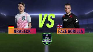 Faze Gorilla Vs Nraseck XBOX GLOBAL SERIES PLAYOFF QUARTERS
