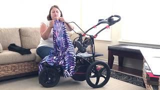 DIY Convert a Jogging Stroller into a Cart for Shopping, Sports, Beach, etc!