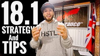 CROSSFIT OPEN WORKOUT 18.1 - My Strategy + Tips