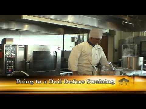 How to Prepare a Brown Sauce (Norwalk Community College)