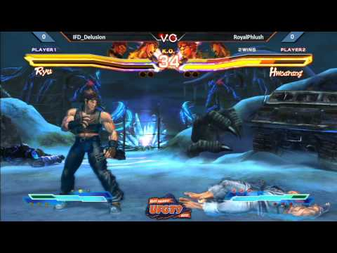UFGT9 - RoyalPhlush Vs. IFD_Delusion - Street Fighter Cross Tekken Pools