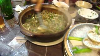 Hong Kong famous Frog Hot Pot Rice