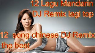 Download Lagu 12 Lagu Mandarin DJ Remix chinese DJ歌曲 Gratis STAFABAND