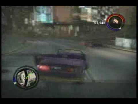 Nick Drives To Work.  Saint's Row 2   Brad 