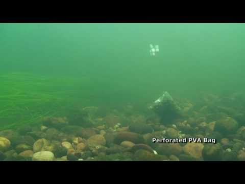 Barbel - PVA Bags Underwater Revealed
