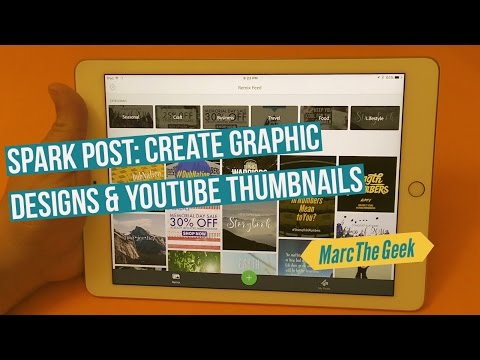 Adobe Spark Post: Create Graphic Designs & YouTube Thumbnails