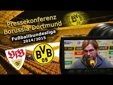VfB Stuttgart - Borussia Dortmund : BVB-Bundesliga-Pressekonferenz Jürgen Klopp