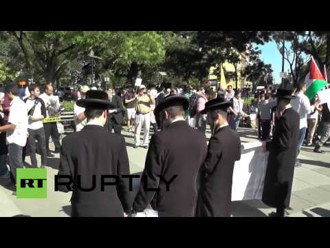 USA: Kids rally for Palestine on Al-Quds Day