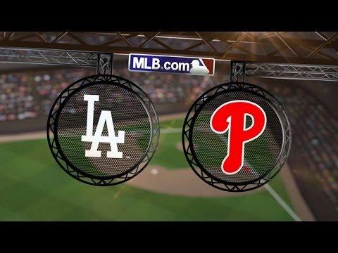 5/23/14: Kershaw's nine K's help Dodgers blank Phils