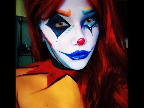 Circus Freak Clown Makeup