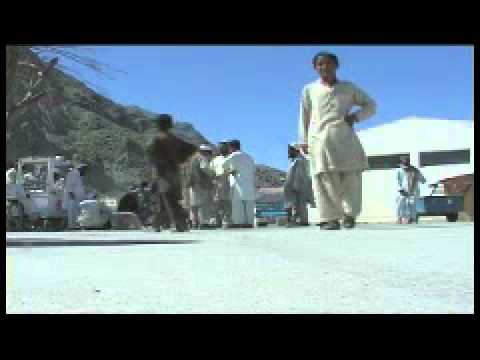 B-Roll: Torkham Gate, Afghanistan border with Pakistan