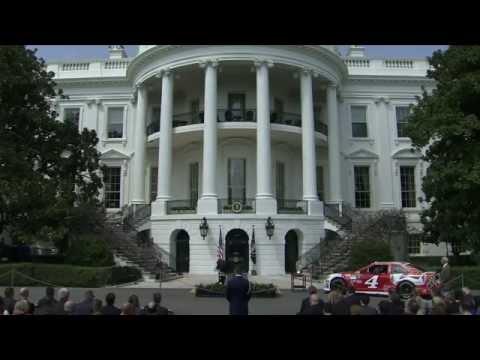 Obama honors NASCAR Sprint Cup Series champion Kevin Harvick