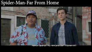 SPIDER MAN FAR FROM HOME  sinopsis