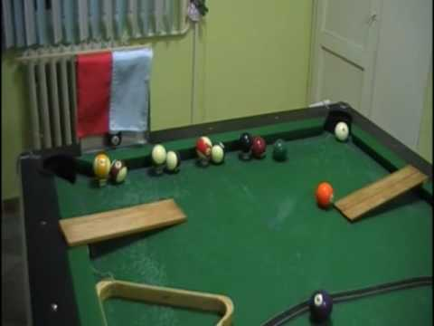 The most complicated trick shot ever!