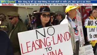 California Biểu-tình Phản đối dự luật cho thuê đất 99 năm