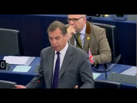 Nigel Farage shreds Greek PM and EU Parliament