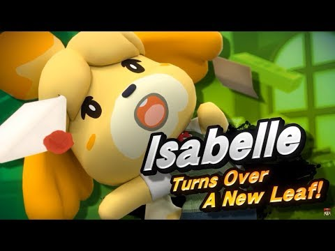 Super Smash Bros Ultimate Isabelle + Animal Crossing Switch Reveal Trailer Nintendo Direct 2018