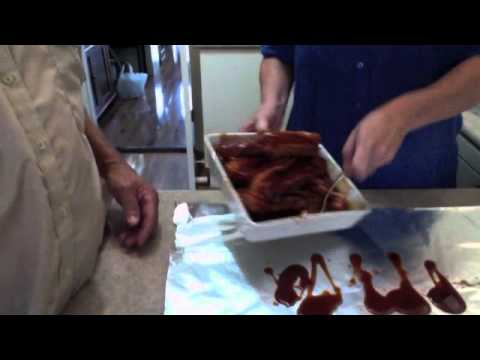 BBQ Pork Spare Ribs (Marinated)