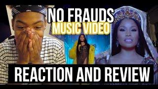 A BARB Reacts to Nicki Minaj- No Frauds MUSIC VIDEO + review