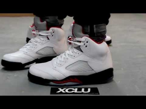 Air Jordan Retro V Fire Red