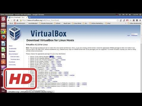 [Ubuntu Linux Tutorial] How to Download and Install VirtualBox On Ubuntu Linux