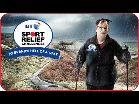 BT Sport Relief Challenges: Jo Brand's Hell of a Walk