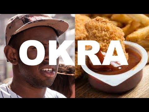 OKRA but Tyler can't stop rapping about chicken nuggets