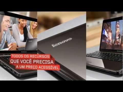 Notebook Lenovo G485 com processador AMD Vision