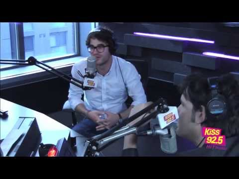 Glee Star Darren Criss In Studio | Interview | The Roz & Mocha Show on KiSS 92.5