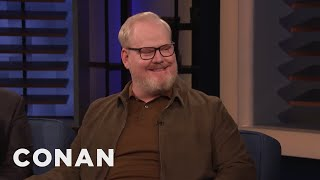 Jim Gaffigan Spent Christmas Day At Disney World - CONAN on TBS