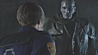 Resident Evil 2 Remake - All Tyrant Cutscenes (Mr X Scenes) RE2 Remake 2019 PS4 Pro