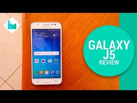 Samsung Galaxy J5 - Review en español