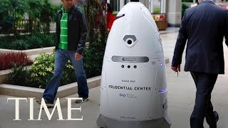 Security Robot Drowns In D.C. Fountain: Was It Stressed Out Or Just Take A Wrong Turn?   TIME