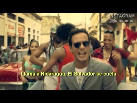 Gente De Zona La Gozadera ft  Marc Anthony Official Video Con Letra