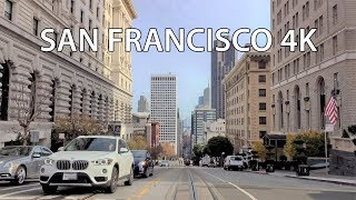Driving Downtown - San Francisco 4K - USA