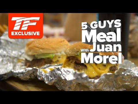 5 Guys Cheat Meal with IFBB Pro Juan Morel